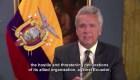 Moreno dice que Assange ha sido agresivo con Ecuador