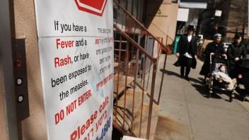 Williamsburg, el epicentro de sarampión en Nueva York