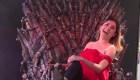 El trono de hierro causa furor en la capital mexicana