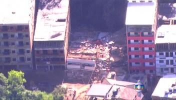 Tres muertos y varios heridos en un derrumbe en Brasil