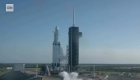 Mira los propulsores del Falcon Heavy aterrizar