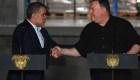 Pompeo trató la crisis de Venezuela con Iván Duque