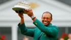 Woods gana su quinta chaqueta verde en Augusta