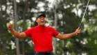 La victoria de Tiger Woods trajo buenas noticias para Nike