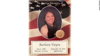 Barbara Vieyra, Soldado, Deportada, Muerta, Afganistán