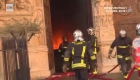 Bomberos arriesgaron su vida para salvar Notre Dame