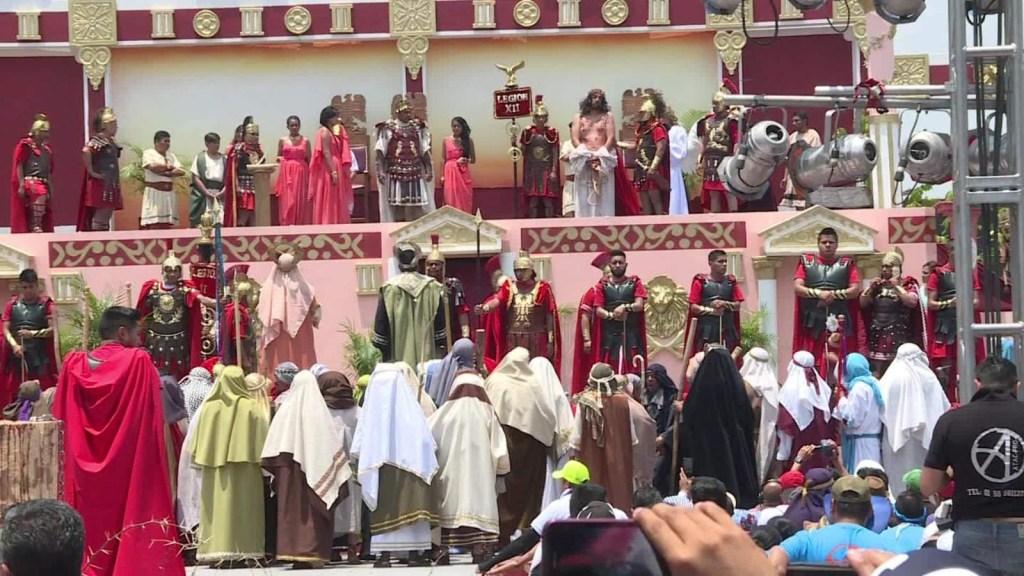 Así se vive la Semana Santa en Iztapalapa