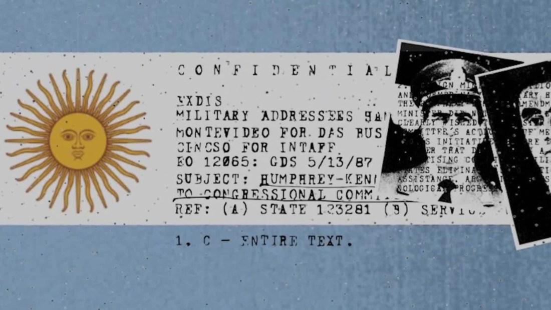 Desclasifican archivos de la dictadura de Argentina