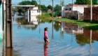Fuertes lluvias dejan miles de damnificados en Paraguay.