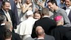 Líder ambientalista adolescente conoció al papa