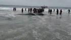 Muere ballena en una playa de Chile