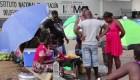 Migrantes africanos se unen a la caravana