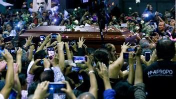 Políticos despiden a Alan García