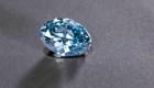 Descubren diamante azul en Botswana