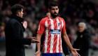 ¿Por qué Diego Costa no entrenó con el Atlético?
