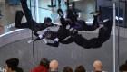 Campeonato de paracaidismo acrobático bajo techo