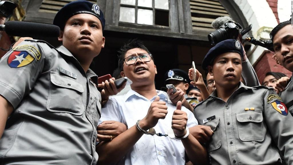 Los periodistas encarcelados que ganaron el Pulitzer