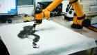 El robot artista que pinta paisajes con su imaginación