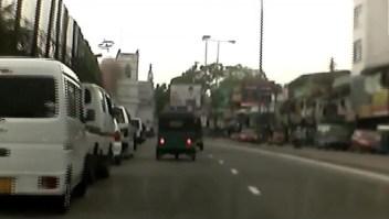 Cámara capta explosión en iglesia en Sri Lanka