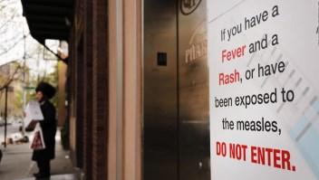 Alerta en EE.UU. por el aumento de casos de sarampión