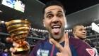 Dani Alves: el jugador activo con más títulos en la historia
