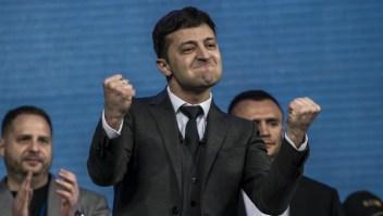 Un comediante será presidente de Ucrania