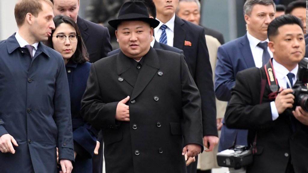 Kim Jong Un se reúne con Putin Rusia