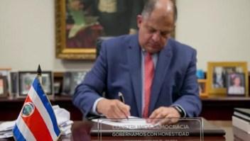 ¿Por qué el expresidente de Costa Rica, Luis Guillermo Solís, dice que Ortega y Somoza son la misma cosa?
