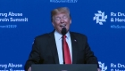 Trump habla sobre la crisis de opioides de EE.UU.