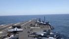 EE.UU. envía portaviones al Mediterráneo