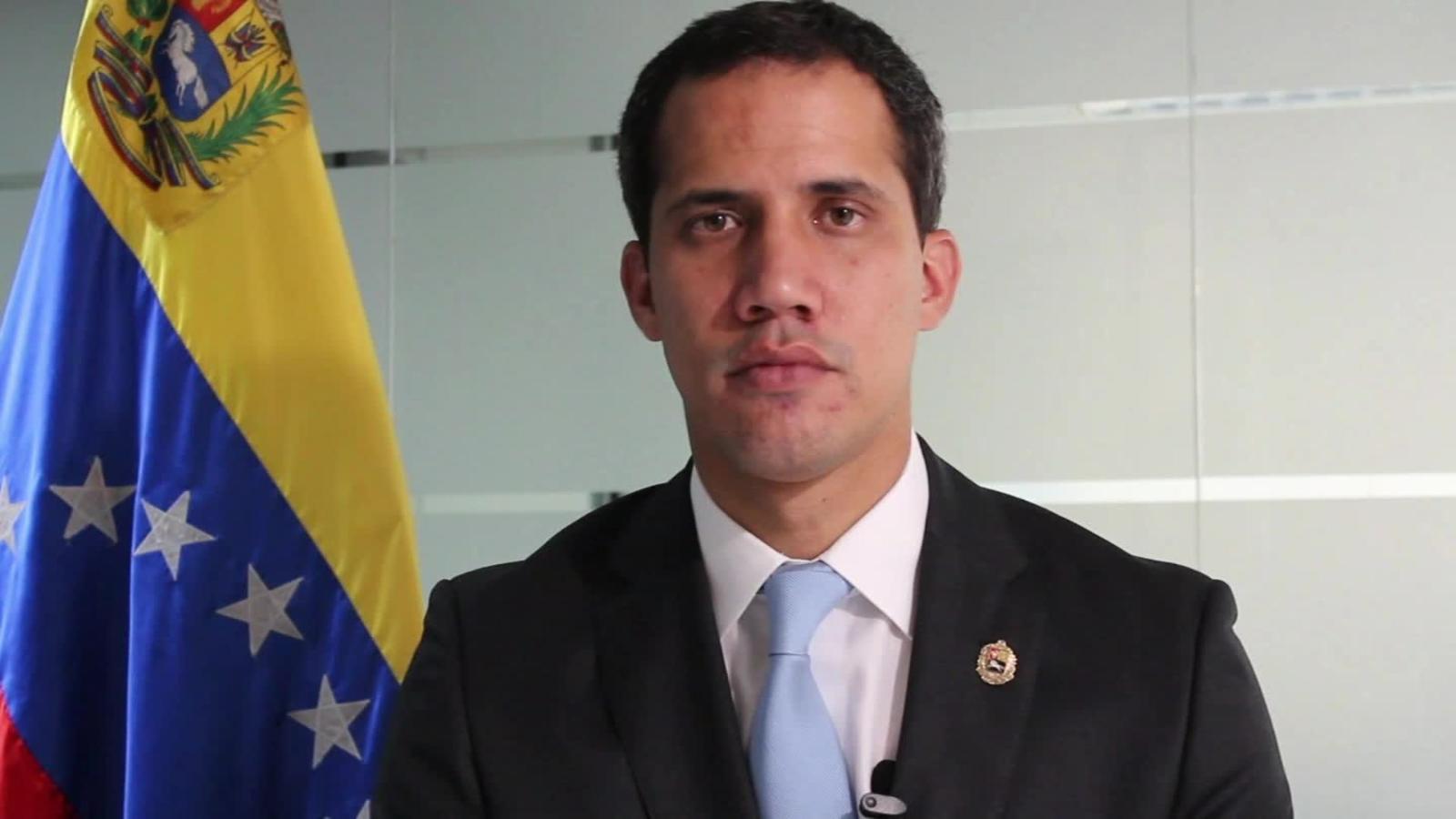 """Guaidó: """"Con Maduro no hay posibilidad de diálogo""""   Video   CNN"""