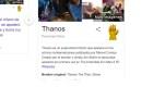 Google y su tributo a Thanos