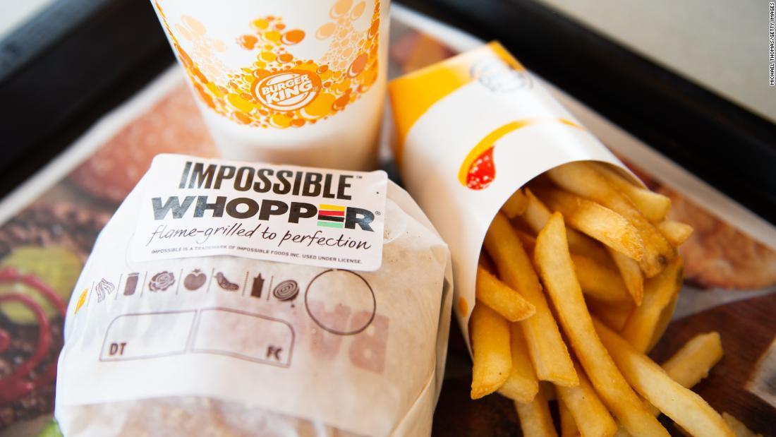 Impossible Whopper BurgerKing EEUU