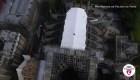 Así se ve Notre Dame desde un drone