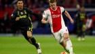 Conoce al capitán del Ajax. Tiene apenas 19 años