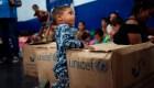 """Niños venezolanos en Colombia """"corren peligro"""", dice Unicef"""