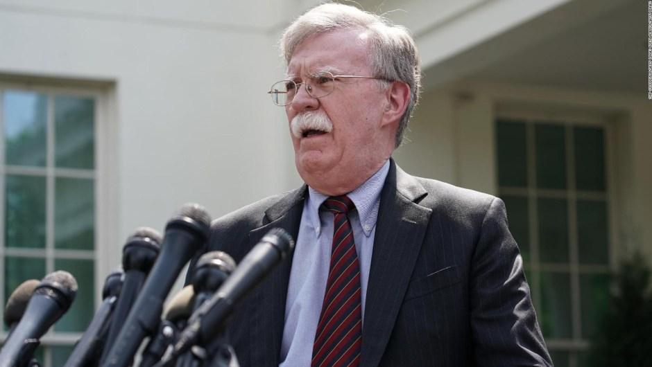 Bolton sobre Venezuela: todas las opciones están sobre la mesa