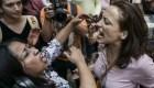 Simpatizantes de Guaidó corren a seguidores de Maduro en México