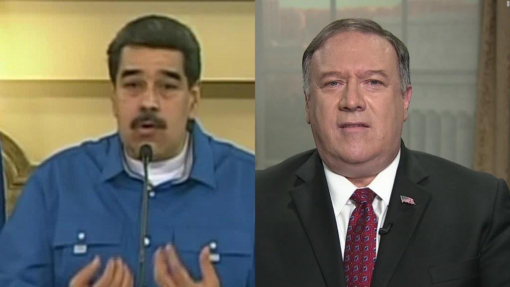 Maduro niega plan de huída del país descrito por Pompeo