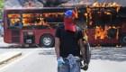El resumen de una jornada caótica en Venezuela