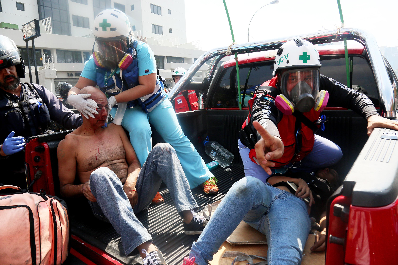 heridos Operación Libertad Caracas