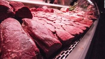 Carne cruda retirada EE.UU.
