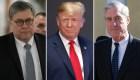 Trump blinda el informe de Mueller