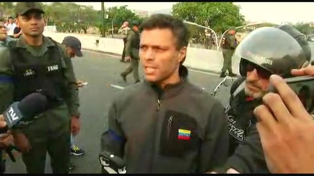 El padre de Leopoldo López reacciona a la liberación de su hijo