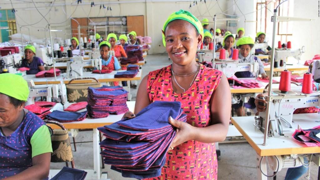 Cómo vencer el tabú de la menstruación en Etiopía