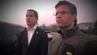 Leopoldo López y su familia están en la embajada de España