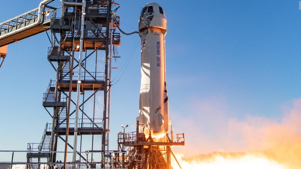 Blue Origin llevaría turismo al espacio en 2019