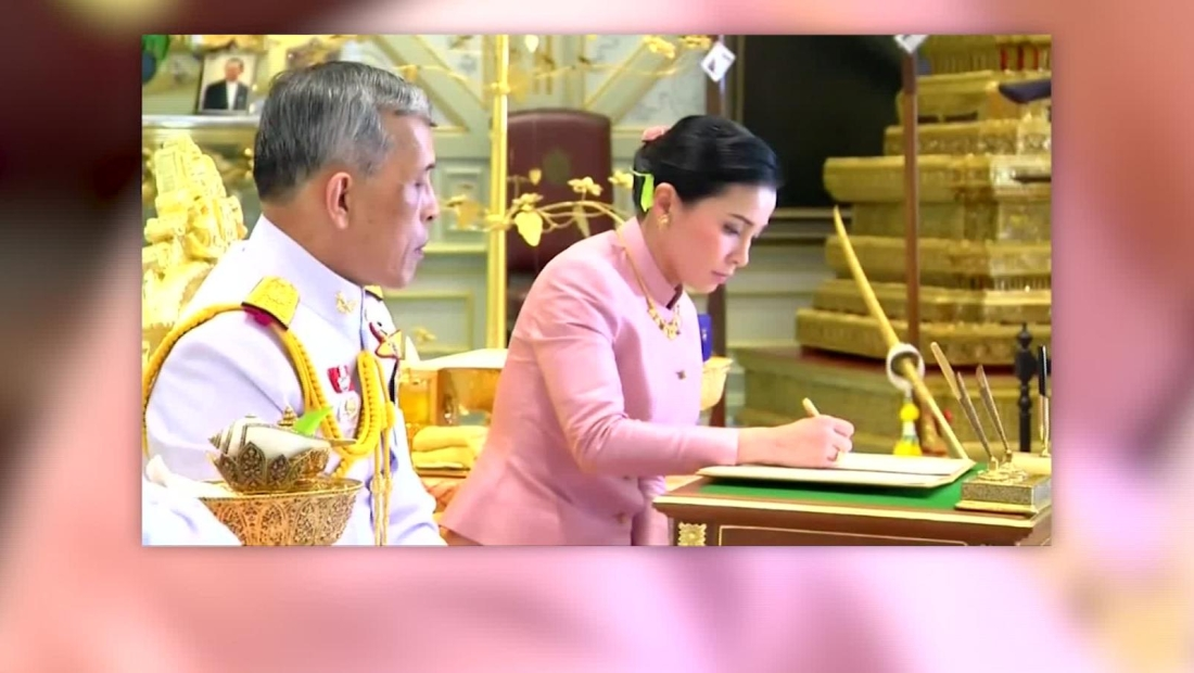 Se casa en secreto el rey de Tailandia