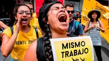 Protestas en el mundo en el Día del Trabajo