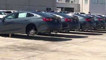 Ladrones se roban US$ 120.000 en neumáticos